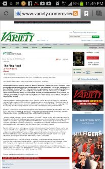 variety reviews the ring road