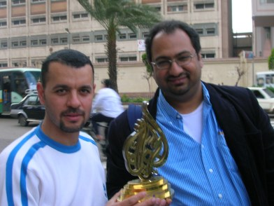 Sherif & Tamer with Al Jezeera Award