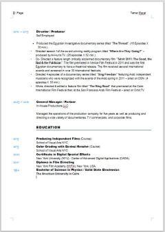 resume pg2